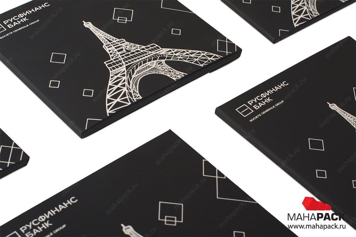 упаковка для пластиковых карт - дизайн и производство
