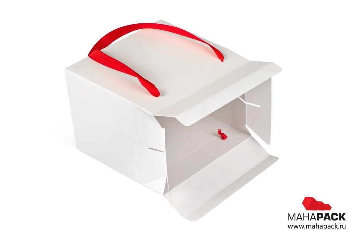 коробка подарочная с лентами