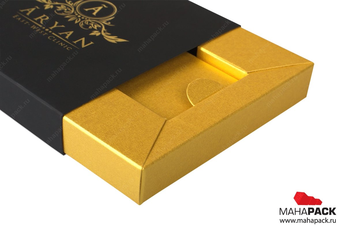 элитная картонная упаковка на заказ