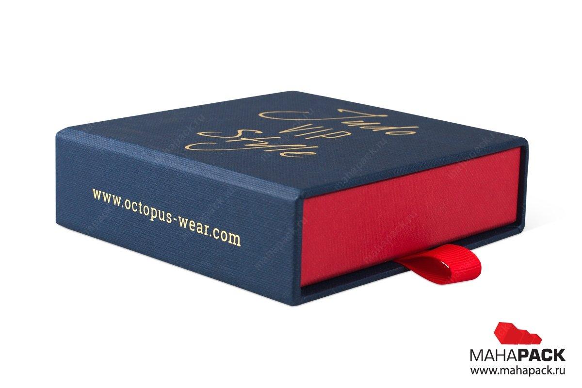 производство подарочной упаковки для запанок и зажима для галстука