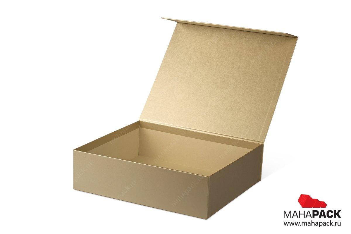 подарочные упаковки - золотые коробки