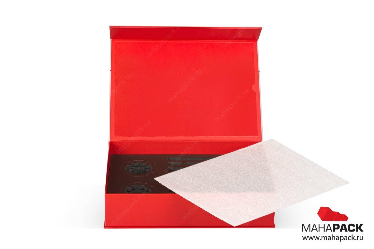 коробки на заказ с изолоновым ложементом