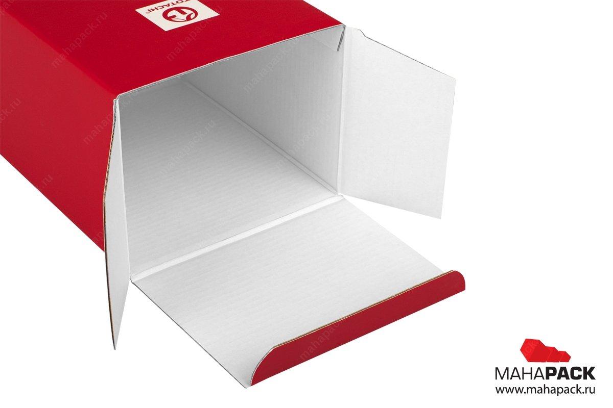 коробка из гафрокартона на заказ москва
