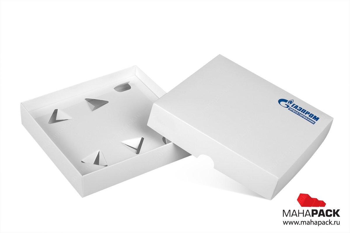 коробка самосборная с лодементом