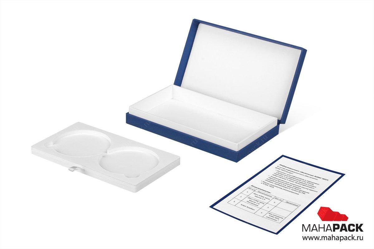 бизнес упаковка для флешки и дисков