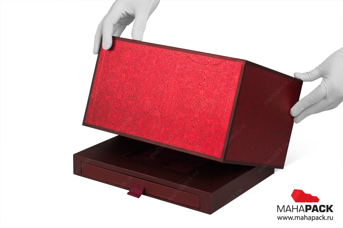 эксклюзивная упаковка подарков - коробка-трансформер