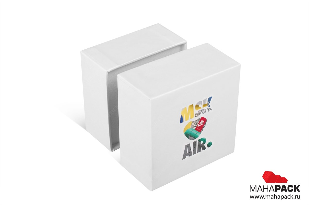 коробка крышка-дно - упаковка для украшений