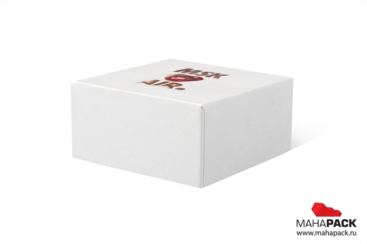 коробка крышка-дно для ювелирных украшений большим тиражом
