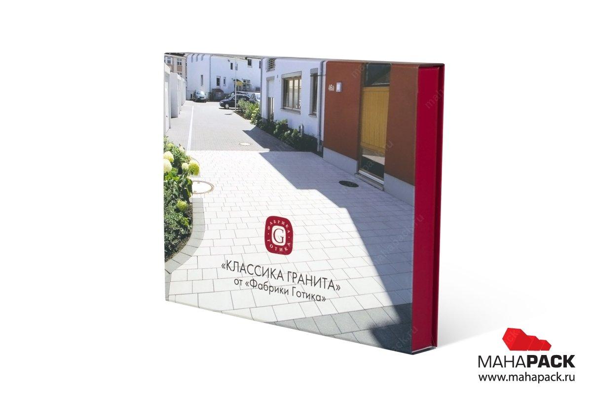 книга коробка для образцов продукции