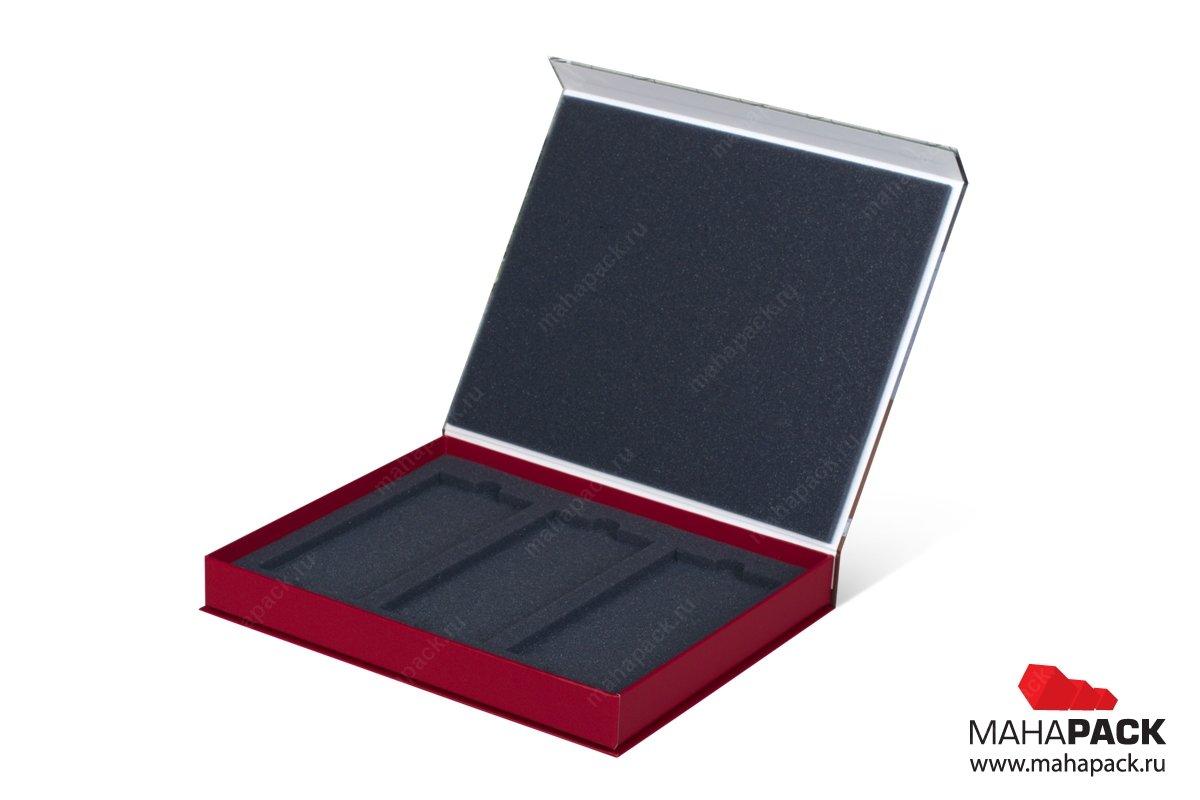 книга коробка на магните для образцов