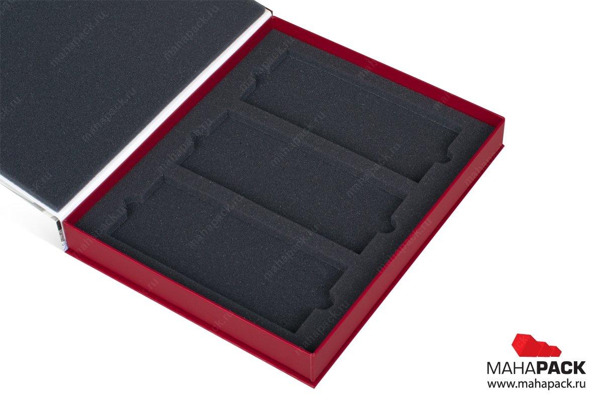 книга коробка на магните для образцов продукции