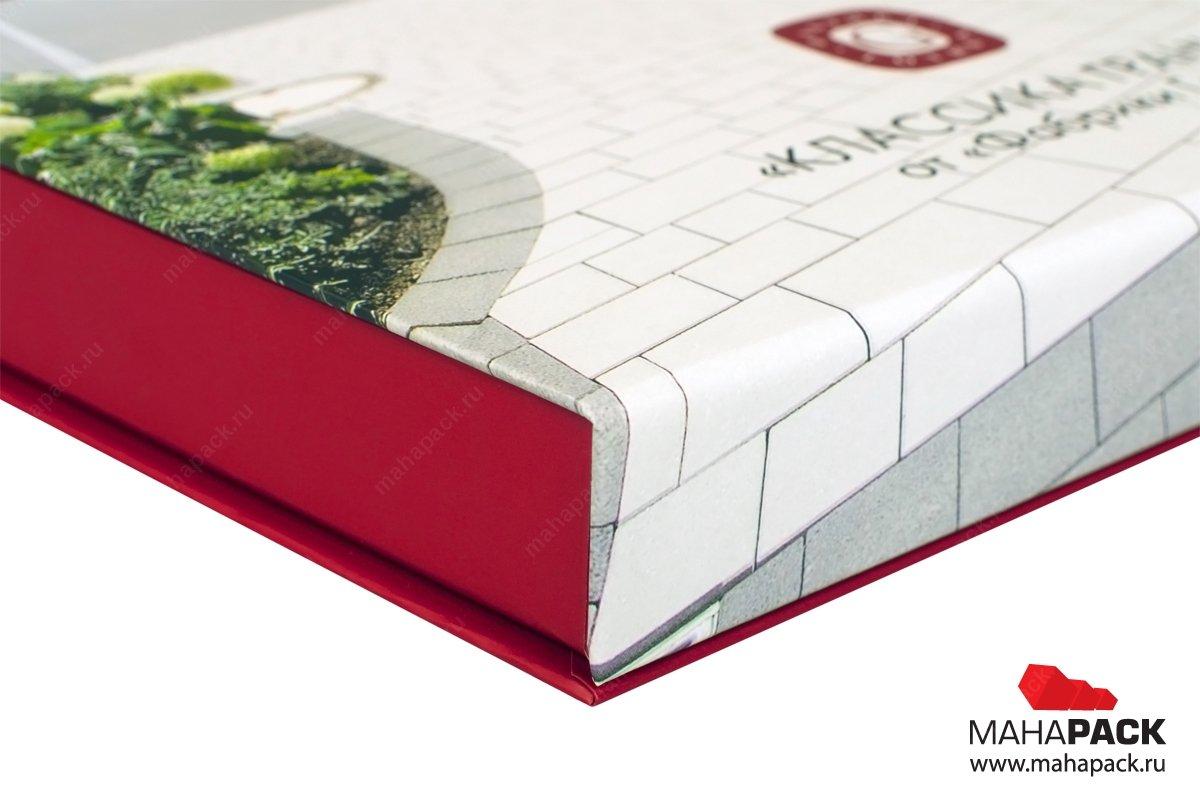 книга коробка с поролонновым ложементом