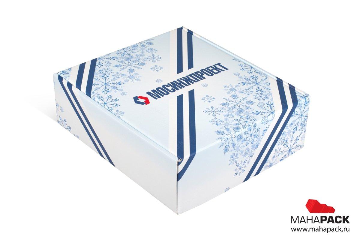заказать подарочные коробки большим тиражом