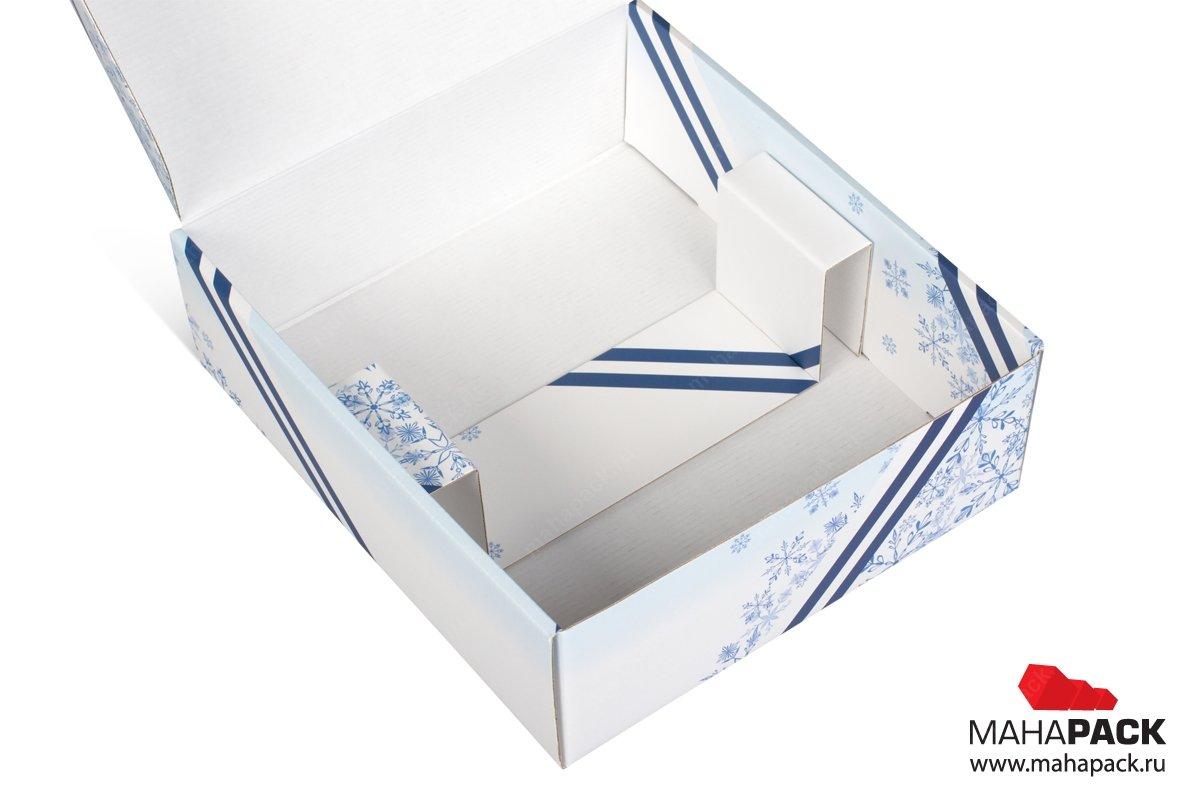 подарочная упаковка с логотипом и ложементом