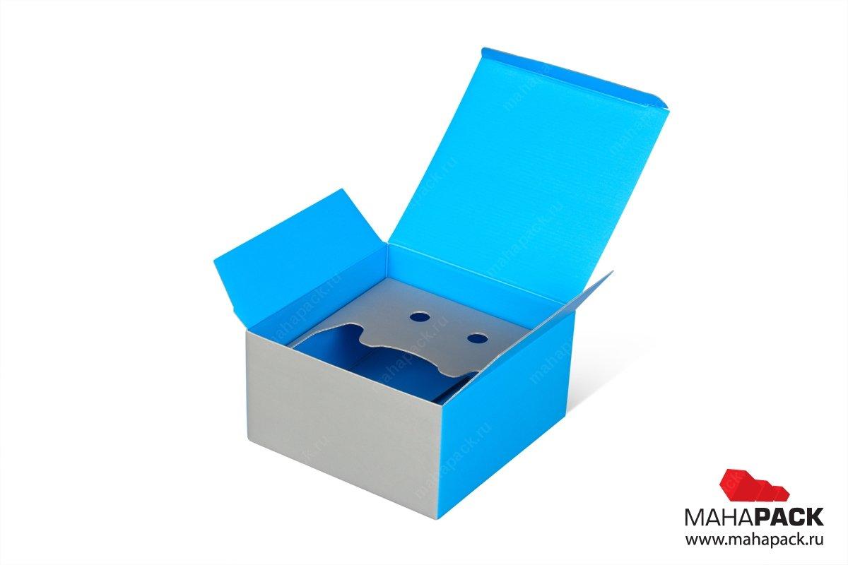 картонная упаковка на заказ с ложементом