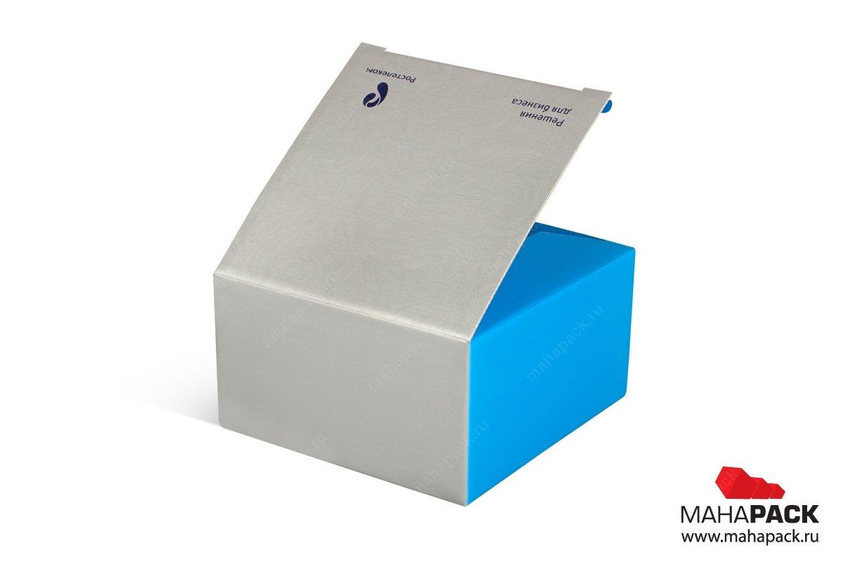картонная упаковка на заказ с логотипом