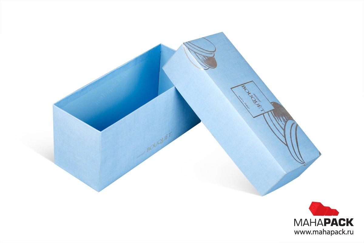 заказать подарочные коробки для пирожных с цветами
