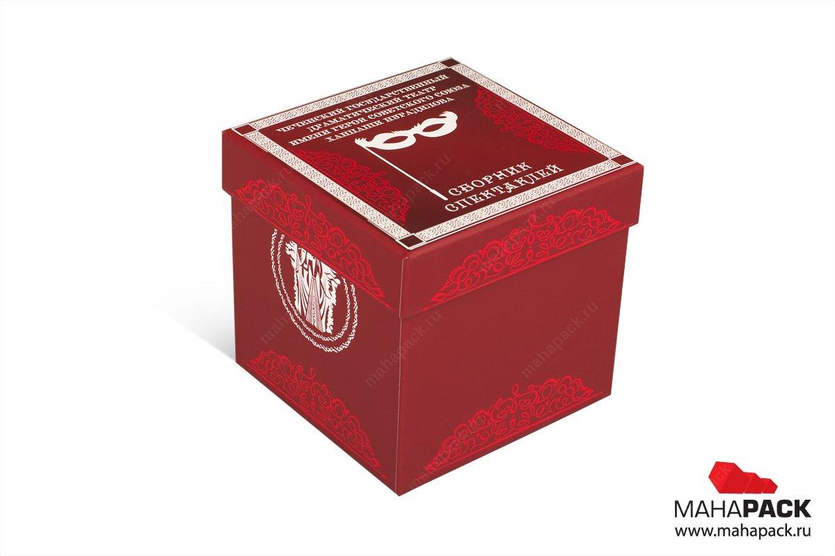 упаковка подарочная для дисков большим тиражом