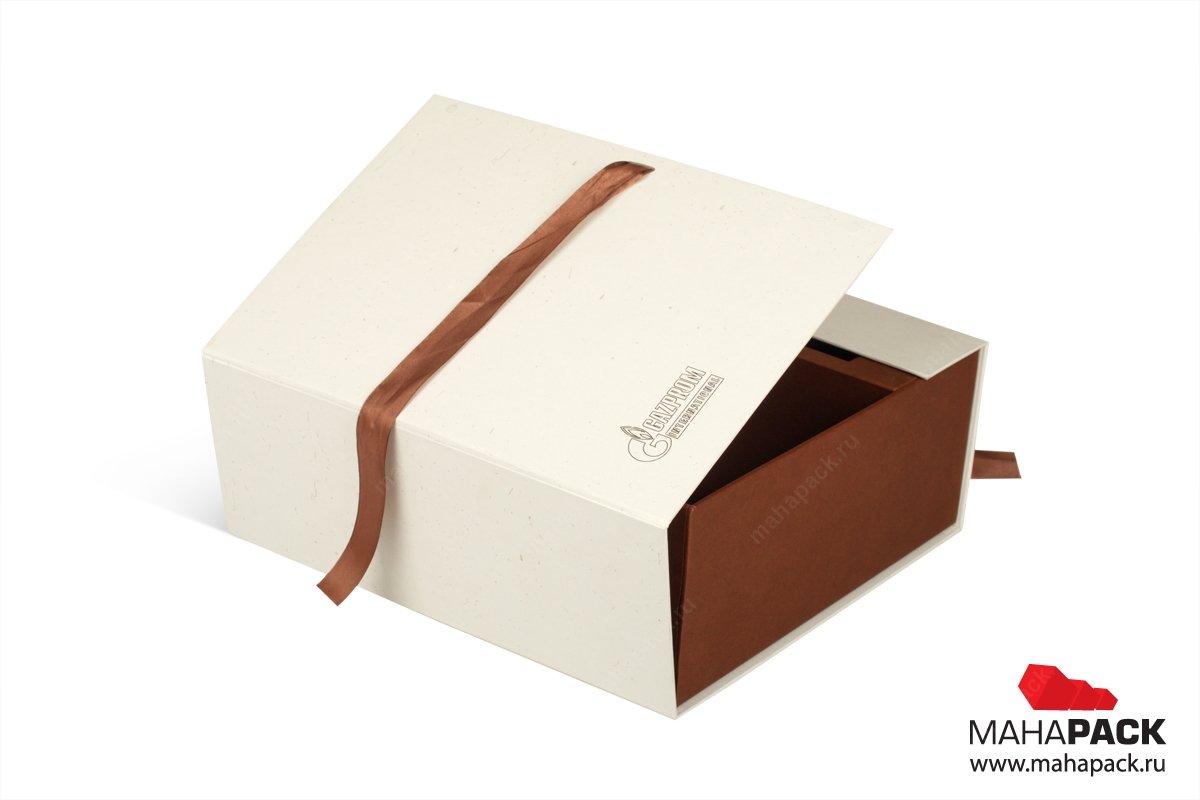 подарочная упаковка с лентами на заказ