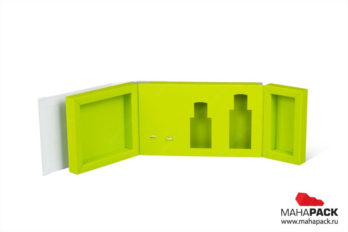 производство коробок на заказ со сложным ложементом