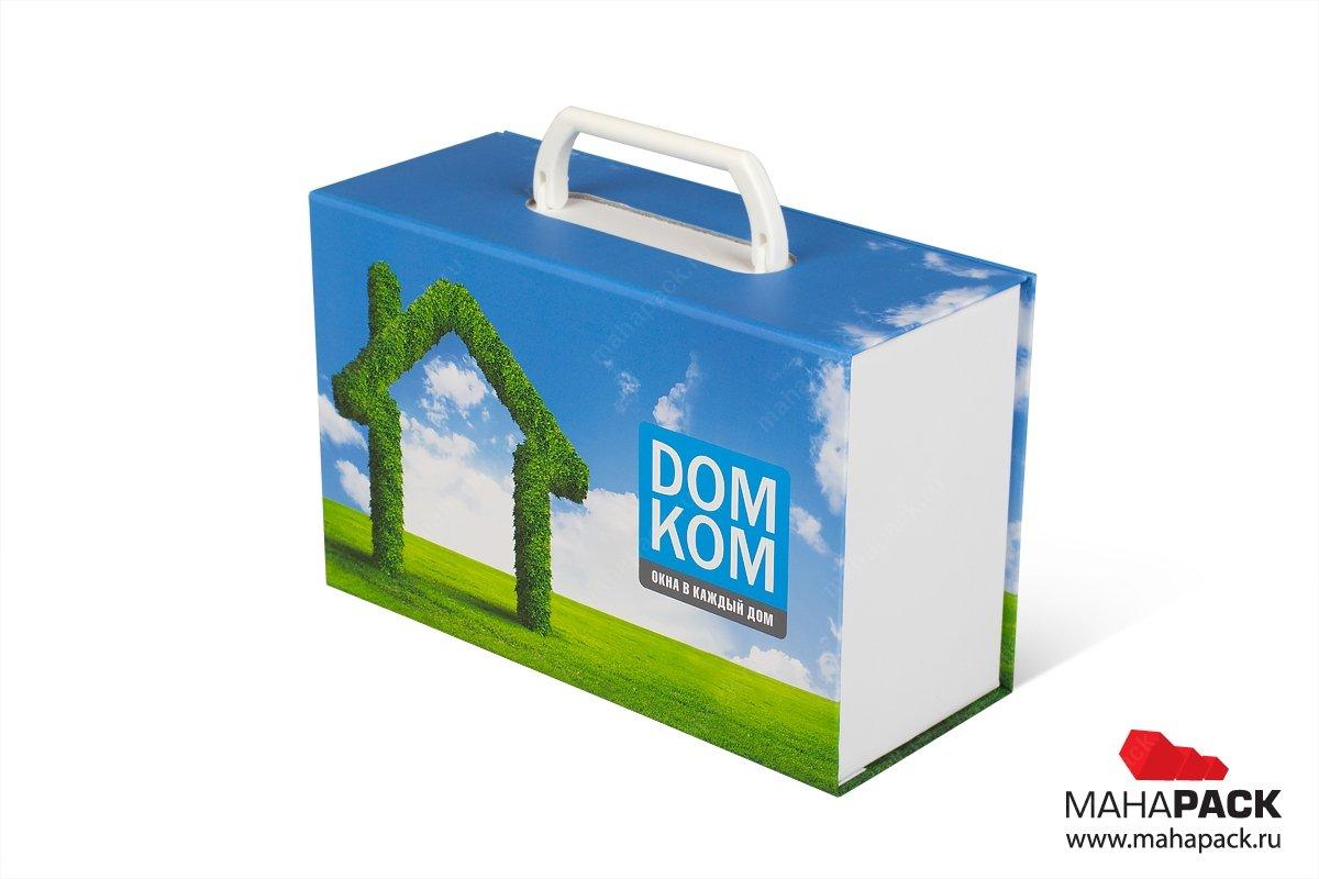 Фирменные портфели и чемоданы для образцов продукции