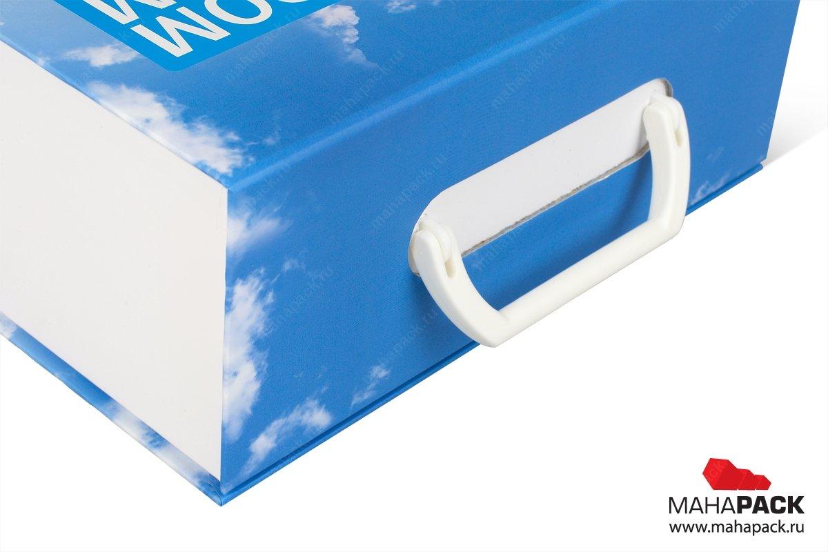 рекламные портфели и чемоданы с навесными ручками