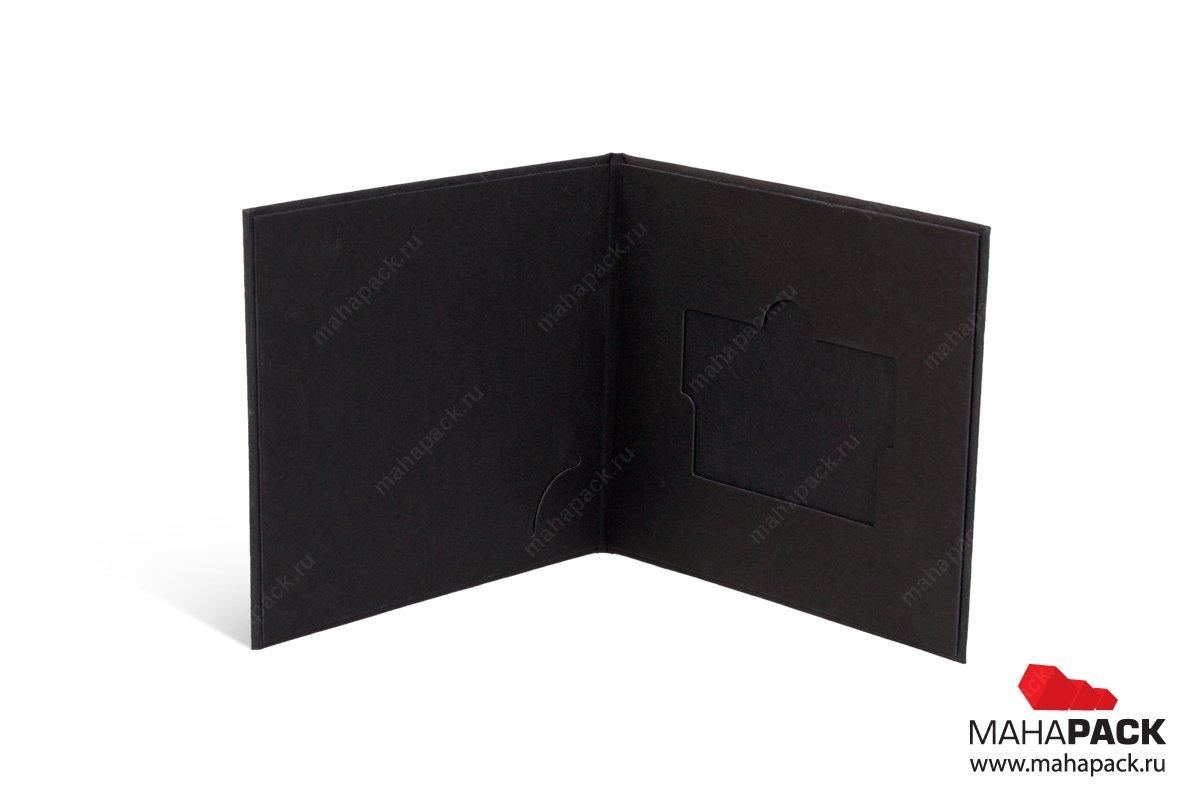подарочная коробка для кредитной карты - печать