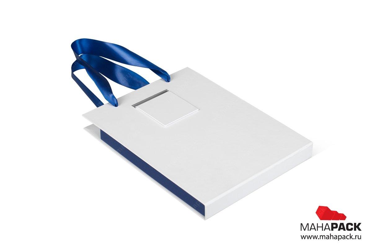 подарочная упаковка коробка-чемодан с логотипом