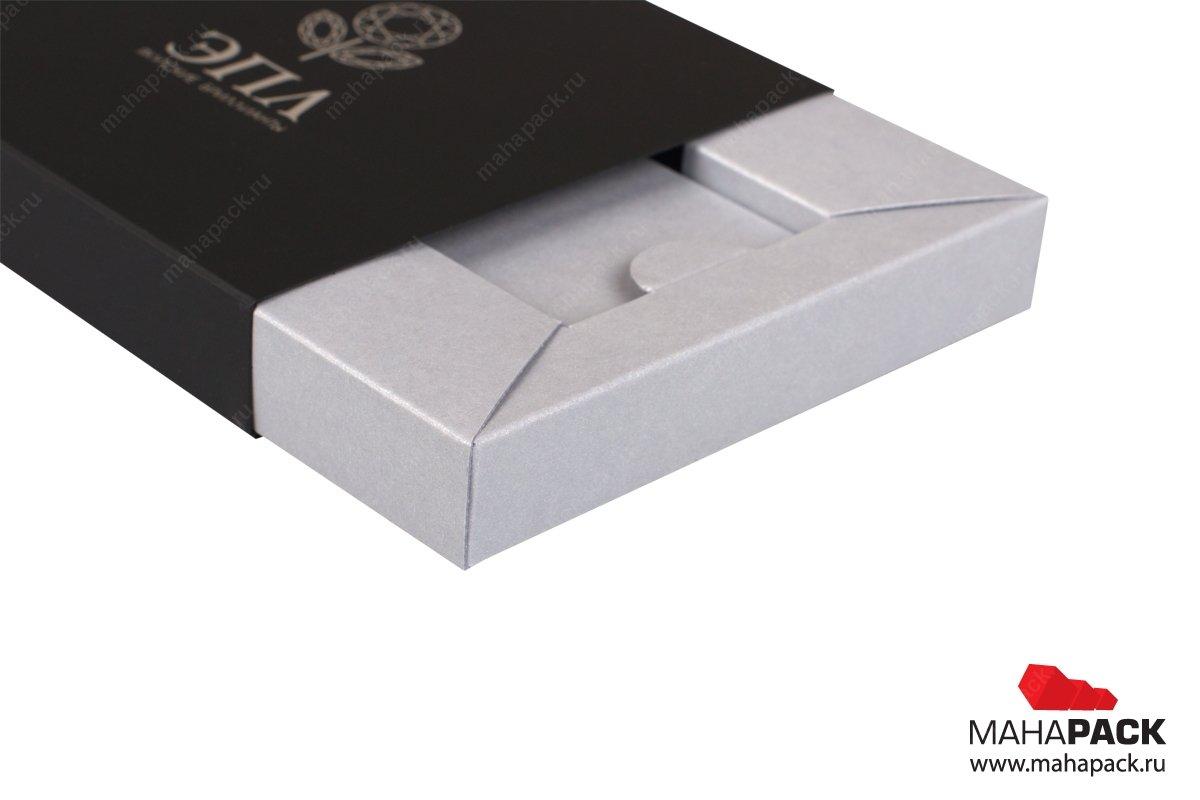 элитная подарочная упаковка - коробка с двойными бортами