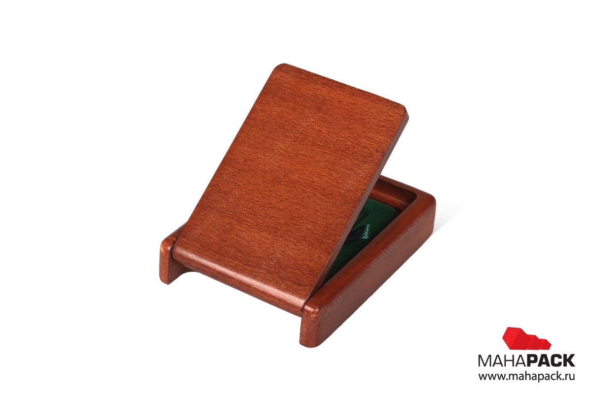 подарочная деревянная упаковка для ювелирки