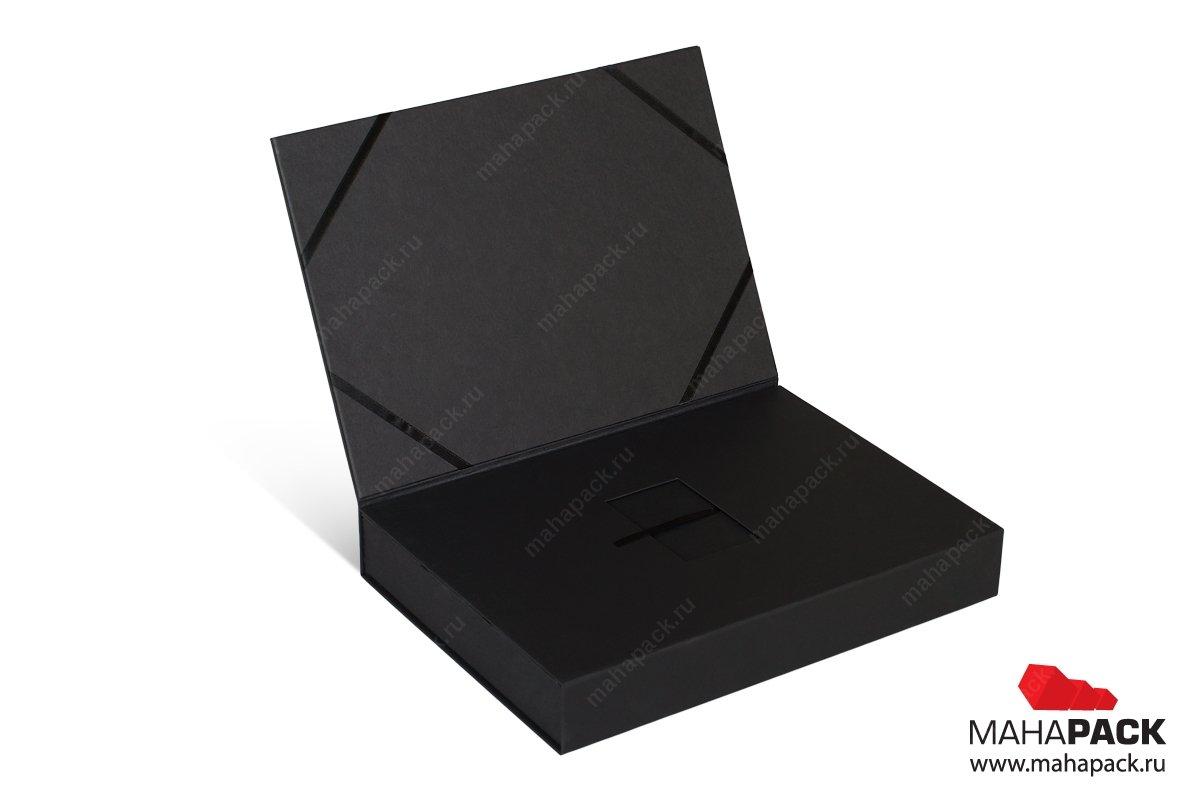 подарочная коробка на заказ для карты и брошюры