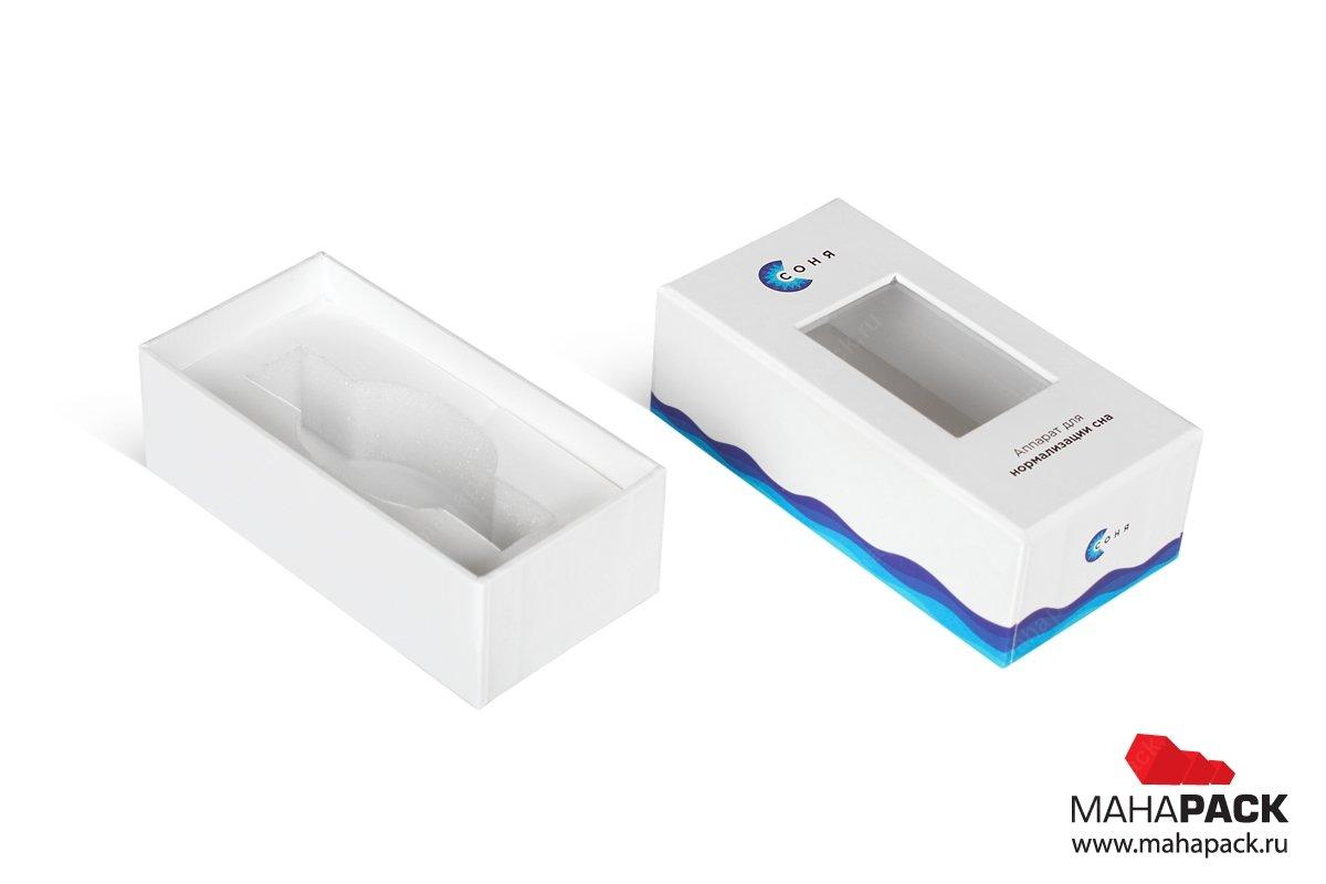изготовление коробок под заказ с ложементом
