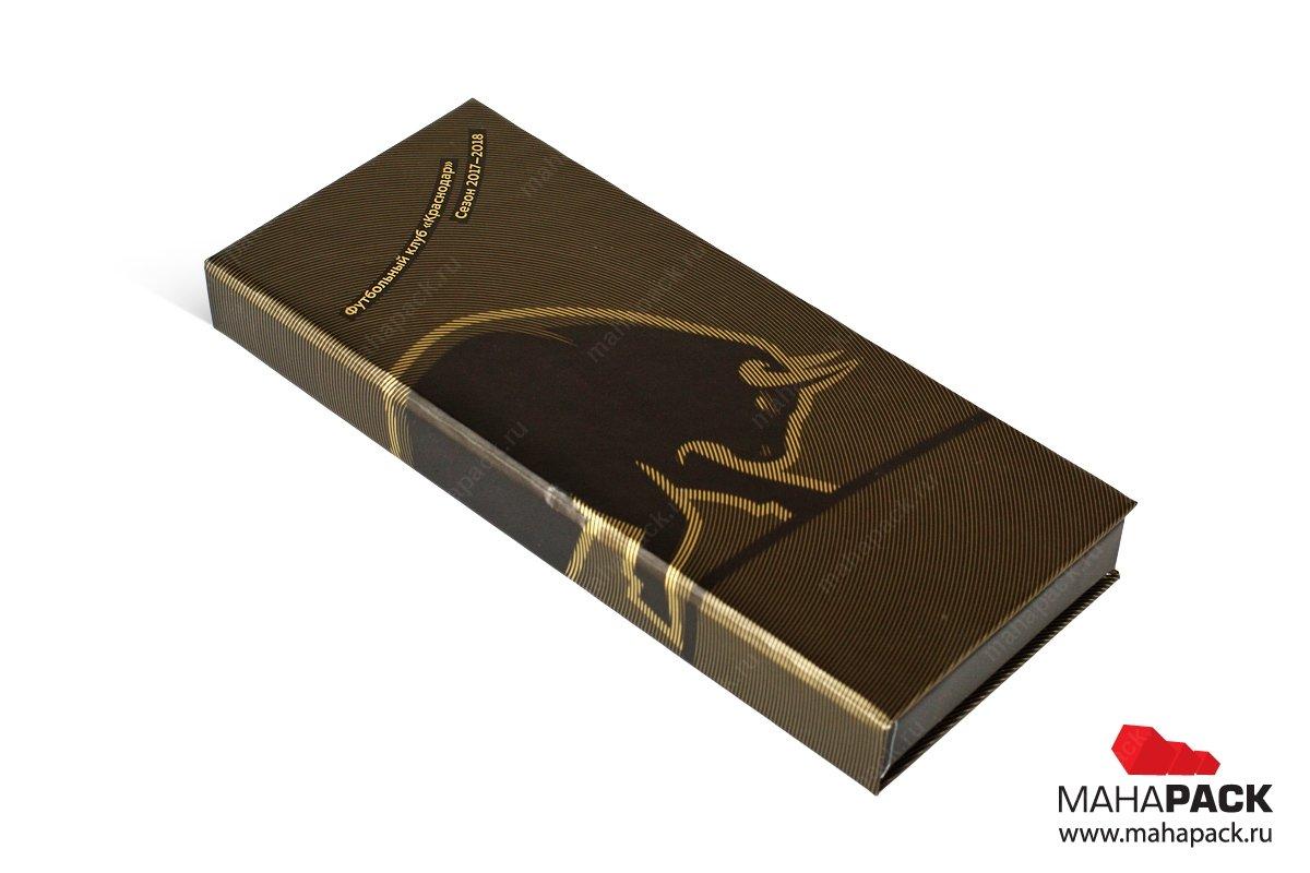 подарочная коробочка для премиальных банковских карточек