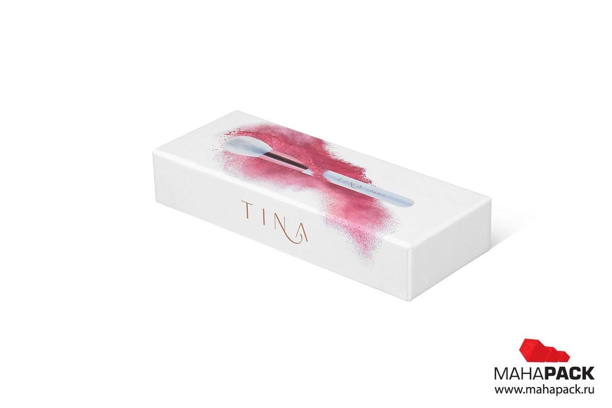 коробка для косметики - дизайн и изготовление