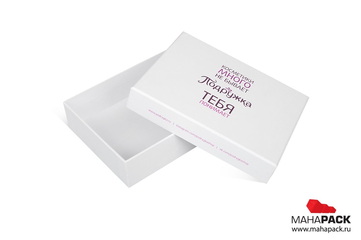 изготовление подарочной коробки для корпоративных клиентов