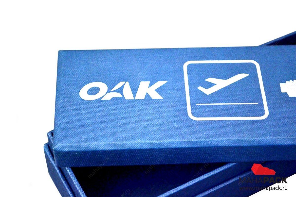 Подарочная коробка-тубус для сувенира