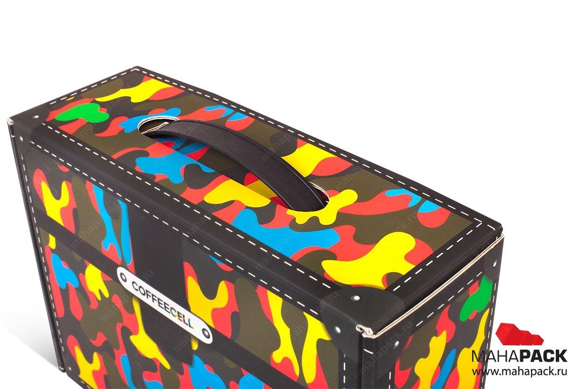 изготовление подарочной коробки на заказ