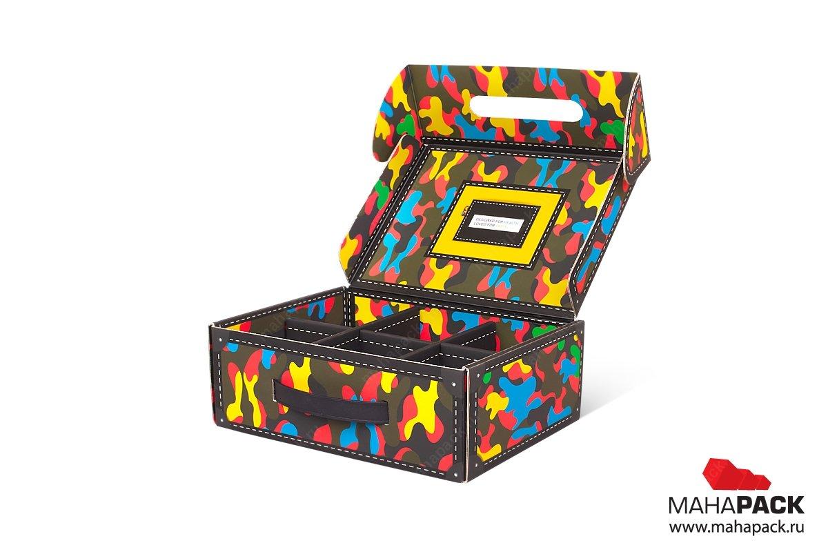 изготовление подарочной коробки с ложементом