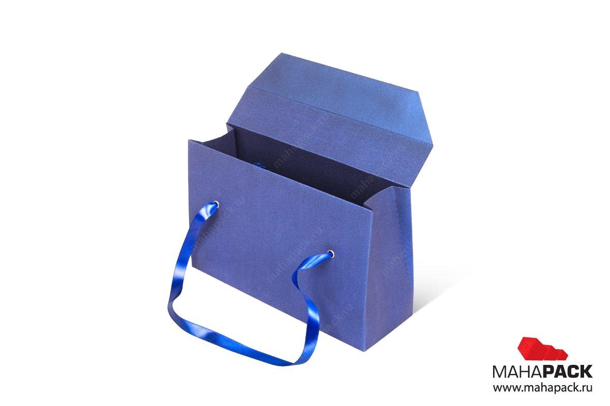 коробки подарочные с ручками