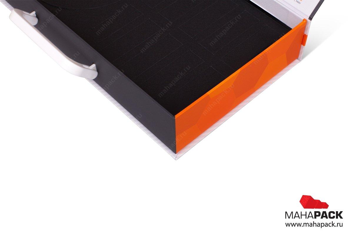 портфели для образцов с изолоновым ложементом
