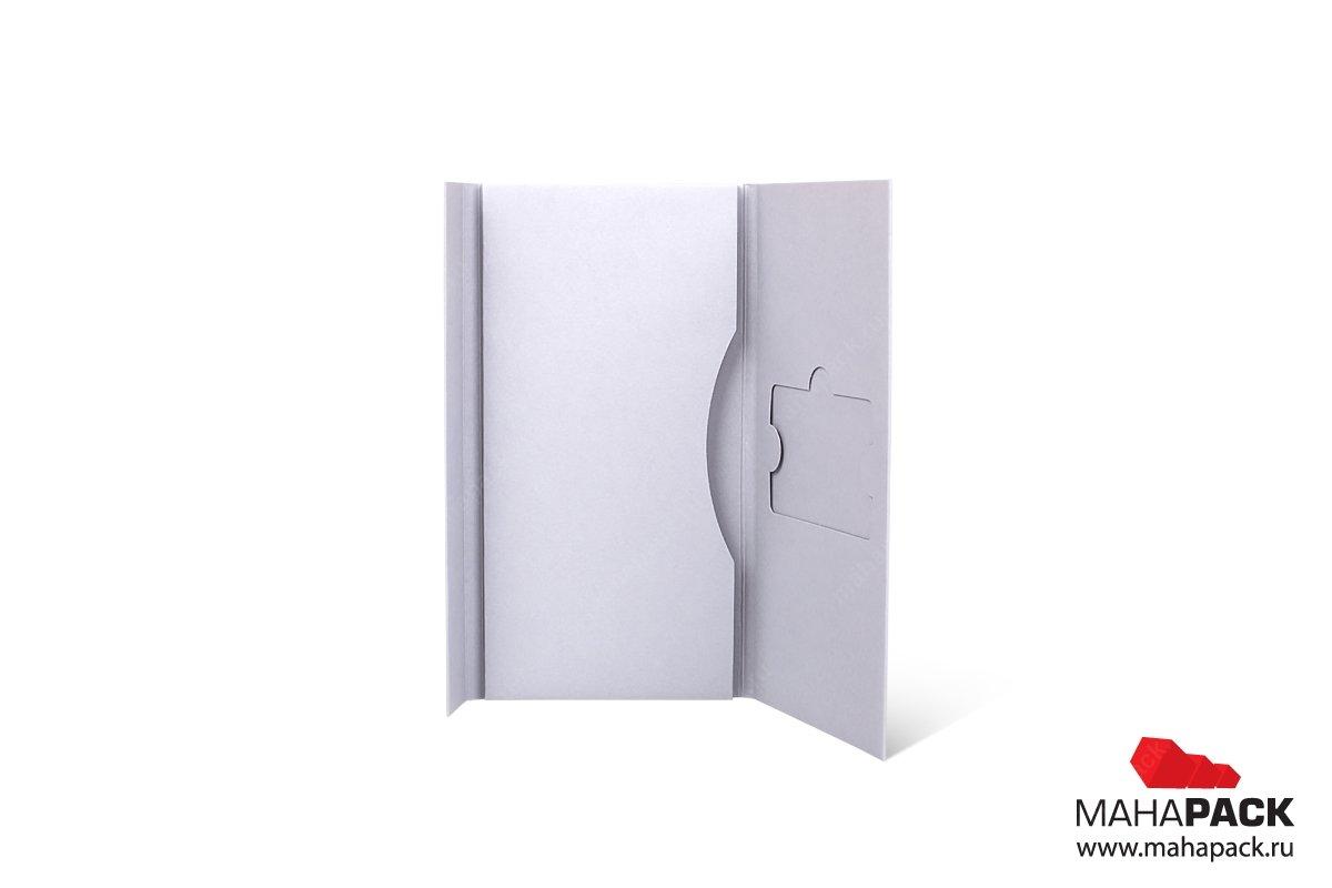 подарочная упаковка для карты и буклета