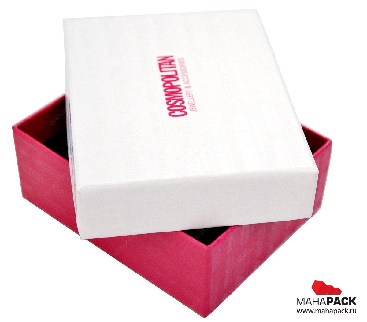 Картонная коробка для бижутерии