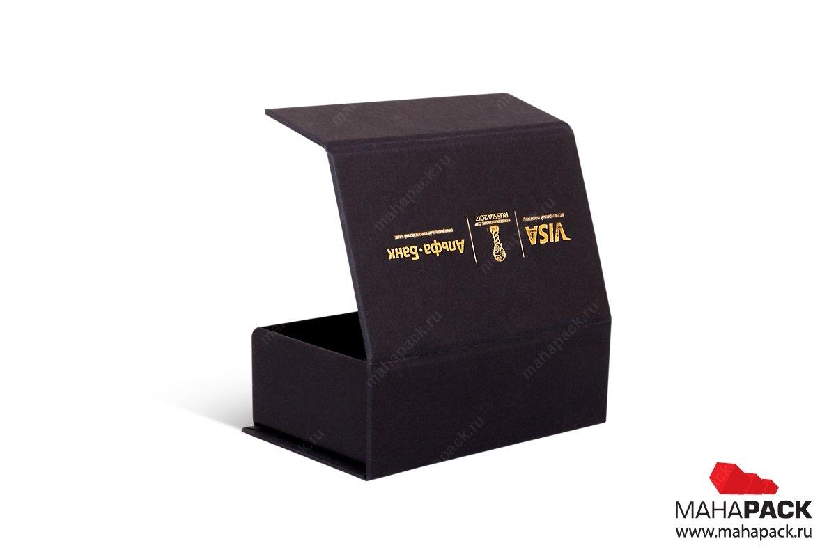 подарочная ювелирная упаковка с тиснением