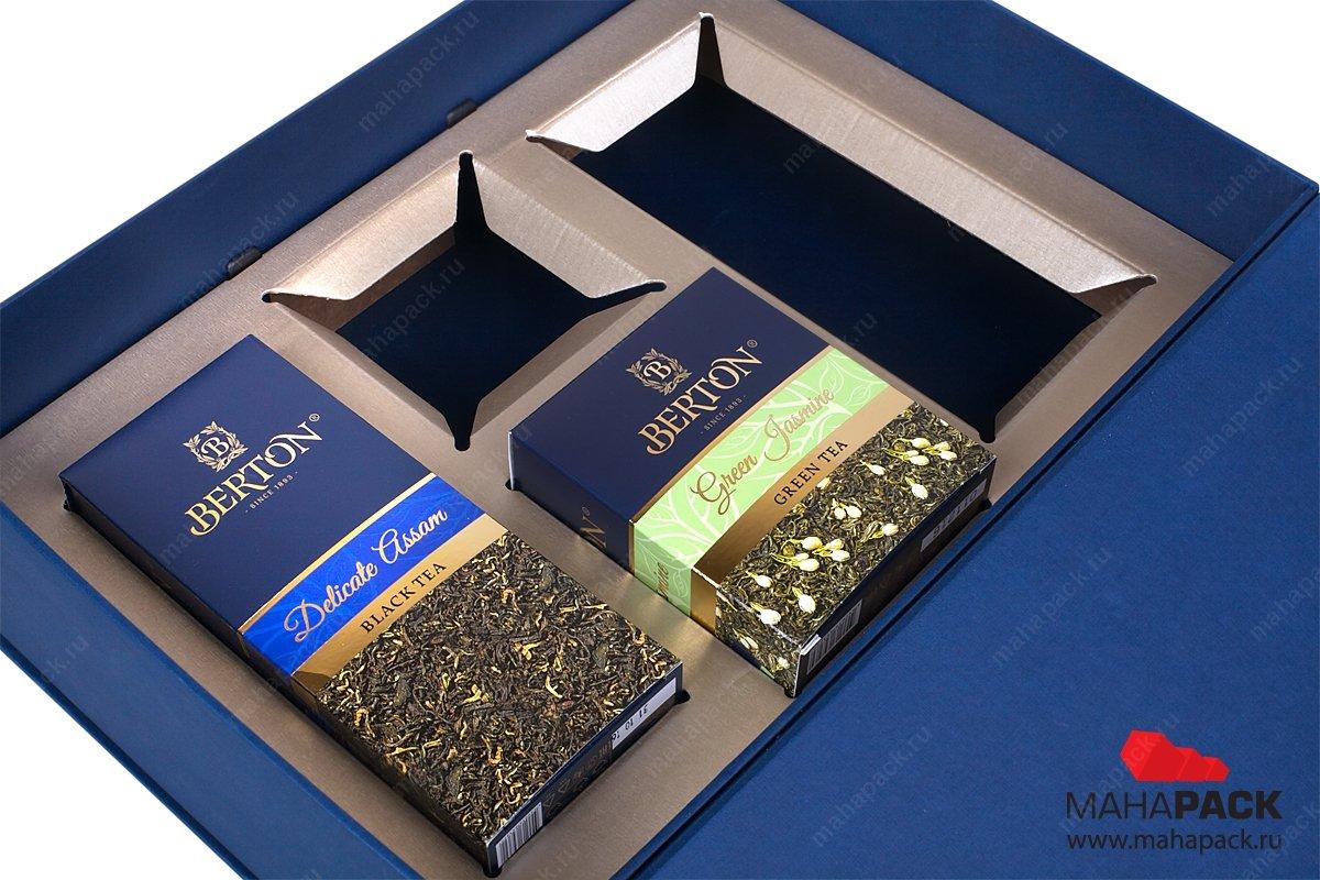 рекламные портфели с ложементом для чая