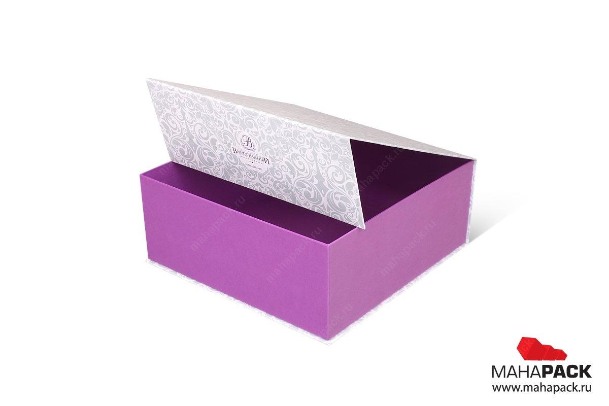 заказать подарочные коробки с клапаном на магните