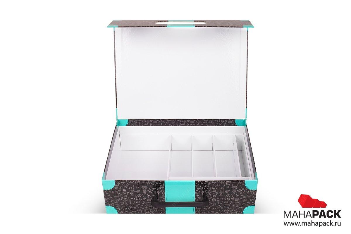 коробки для сувениров с ложементом